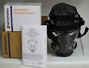 Full Face Mask Respirator And Cartridges