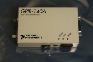 National Instruments Gpib 140a Fiber optic Gpib Bus Extender