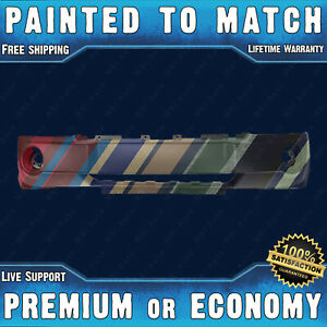 Painted To Match Front Bumper Cover Replacement 2005 2007 Jeep Grand Cherokee