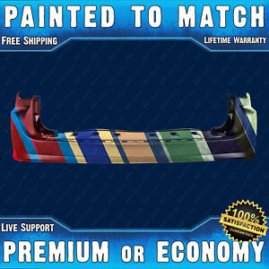 Painted To Match Rear Bumper Cover Replacement For 2011 2018 Dodge Grand Caravan