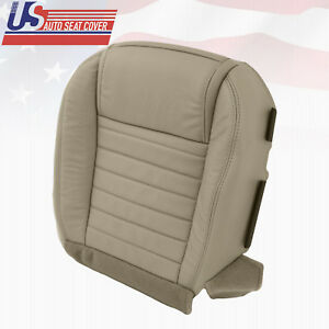 2005 2009 Ford Mustang Front Driver Bottom Leather Replacement Seat Cover Medtan