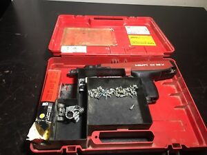 Hilti Dx36m Powder Actuated Nail Stud Gun Tool With Case