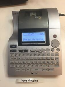 Brother P touch Pt 2700 Label Maker Usb Thermal Printer Labeling System