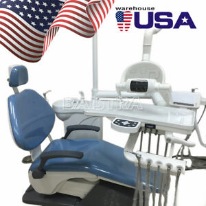 Usa Dental Unit Chair Hard Leather Computer Controlled