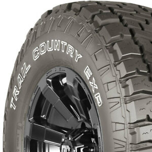 2 New Lt265 75r16 E 10 Ply Dick Cepek Trail Country Exp 265 75 16 Tires