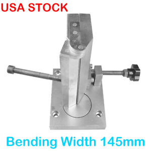145mm Dual axis Metal Angle Bender For Channel Sign Letter Strip Bender Tool Usa