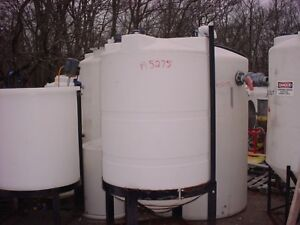 500 Gallon Cone Bottom Poly Tank With Domed Top