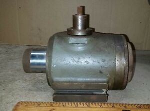 Vintage Unknown Machinist Lathe Tool End Mill Part Heavy