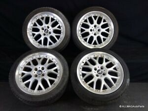 02 08 Mini Cooper 17 Wheels Oem Bbs Rs844 2 piece Cross Spoke R90 Silver 132