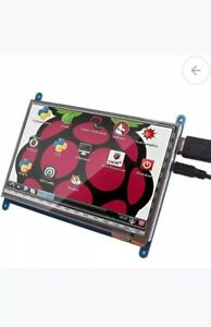 Kuman 7 Inch Capacitive Touch Screen Tft Lcd Display Hdmi Module 800x480 For