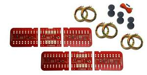 67 68 Firebird Digi Tails Led Tail Light Kit W Reverse W Flasher 1100567r