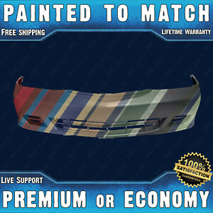 New Painted To Match Front Bumper Cover Fascia For 1999 2004 Honda Odyssey Van