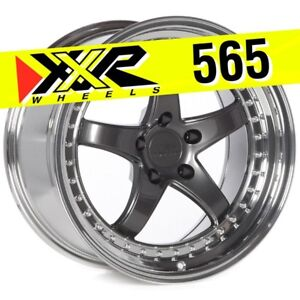 Xxr 565 18x9 5 5 114 3 20 Graphite Wheels Set Of 4 Fits Nissan 350z G35