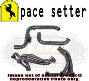 Pace Setter 70 1206 Painted Black Headers 85 90 Chevy Camaro Firebird 2 8l V6