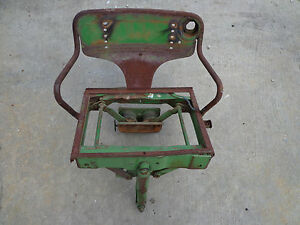 John Deere B R 80 820 830 Float Ride Seat Complete Seat Assembly