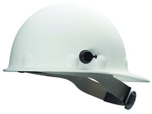 Fibre metal By Honeywell P2hnqrw01a000 Super Eight Ratchet Hard Hat White