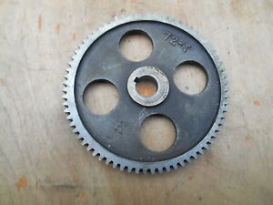 Logan 10 Lathe 72 Tooth Change Gear From Model 200