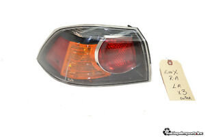 09 15 Lancer Evolution X Oem Left Outer Rear Trunk Taillight Taillamp Evox