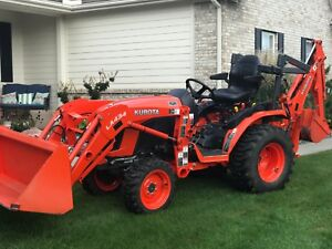 2017 Kubota Tractor Loader Backhoe 3 Spd Hst 4x4 110 Hrs B2601 Save Thousands