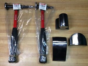 Matco Body Fender 5 Piece Tool Set Hammer Dolly Auto Body Collision Repair