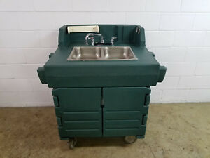 Cambro Ksc402 Portable 2 Compartment Hand Washing Sink Tested Hot