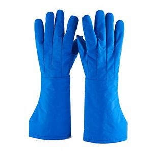 Cryogenic Gloves Low Temperature Resistant Ln2 Cold Proof Nitrogen l
