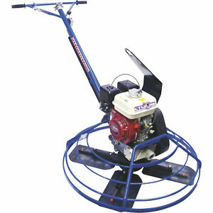 Marshalltown Cyclone Power Trowel Machine 36in 5 1 2hp With Lift Hook 36e55