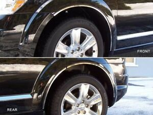 8pc Stainless Steel Wheel Well Accent Trim Wq49945 For Dodge Journey 2009 2019