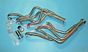 Exhaust Header For Chevy Small Block 1965 89 Fullsize Car Long Tube Headers Long