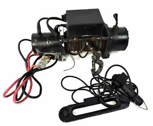 Superwinch Winch P8500 With Controller Hand held Oem 3393