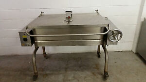 Groen Fpc 1 4 Tilt Skillet Self Contained Braising Pan 40 Gallon 208 Tested