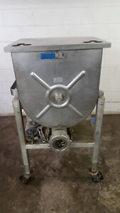 Hollymatic 180a Meat Grinder 208v Stainless Steel Tested