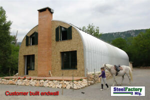 Steel S20x30x14 Made In Usa Prefab Metal Arch Storage Building Garage Barn Kit