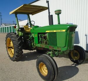 4000 John Deere Powershift Diesel 1972 Row Crop