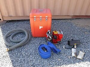 Scot Handy Billy Sea Water Portable Salvage Pump Gas Powered Us Coast Guard
