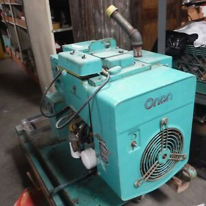 Onan Diesel Generator Model 8a With Cooling Fan Tested 1 And 3 Phase