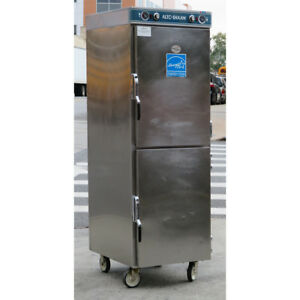 Alto Shaam 1200 up Low Temperature Double Hot Food Holding Cabinet Used