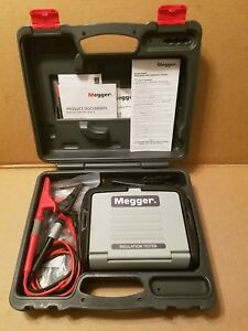 Megger Mit310a 1000v Analog Insulation Tester