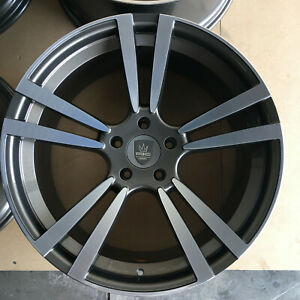 22 Wheels For Porsche Panamera Or Cayenne 22x10 22x11 Set Of 4