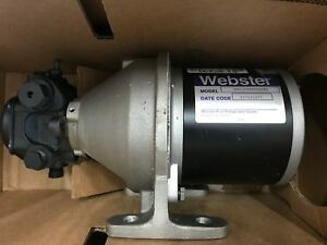 Webster Waste Oil Transfer Pump Motor spm 16at1rr140 New In Box
