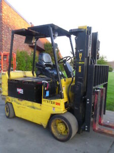 Electric Forklift 1999 Hyster E120xl 12 000