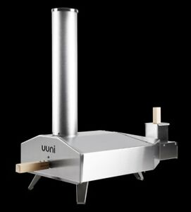 Uuni 3 Wood Pellet Pizza Oven Stainless Steel