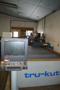 2012 Aks Cnc Plasma Table 5 X 10 Hsd 130 Torch