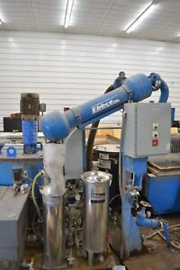 Ebbco Waterjet Closed Loop Filtration System And Garnet Extraction System