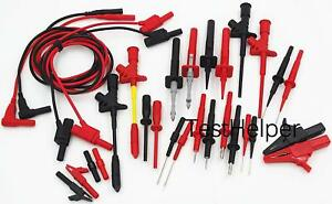 Th 16 kit Multimeter Test Lead Kits Set Automotive Electronic Test Probe Clip