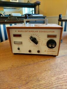 V Meuller Bipolar Coagulator Used
