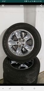 20 Inch Chrome Rims And Tires Dodge Oem