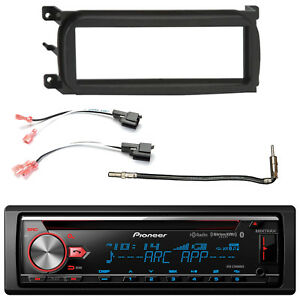 Single din Cd Bluetooth Car Stereo Dash Kit Speaker Connector Antenna Adapter