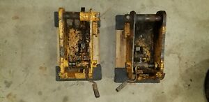 Case 1845c Skid Steer Manual Quick Couplers Left And Right