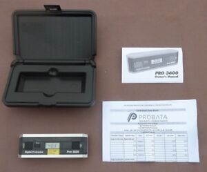 Pro 3600 Digital Protractor 0 05 Degree Accuracy Rs 232c